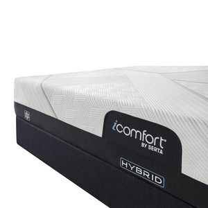 Thumbnail of Serta Mattress - iComfort CF1000 Non-Quilted Hybrid Medium Mattress with Standard Box Spring