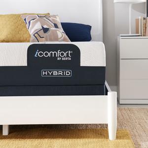 Thumbnail of Serta Mattress - iComfort CF1000 Non-Quilted Hybrid Medium Mattress with Standard Box Spring
