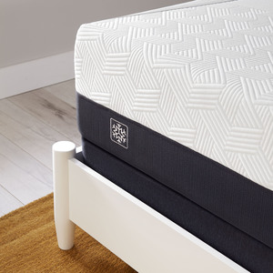 Thumbnail of SERTA MATTRESS COMPANY - iComfort CF1000 Non-Quilted Hybrid Medium Mattress with Standard Box Spring