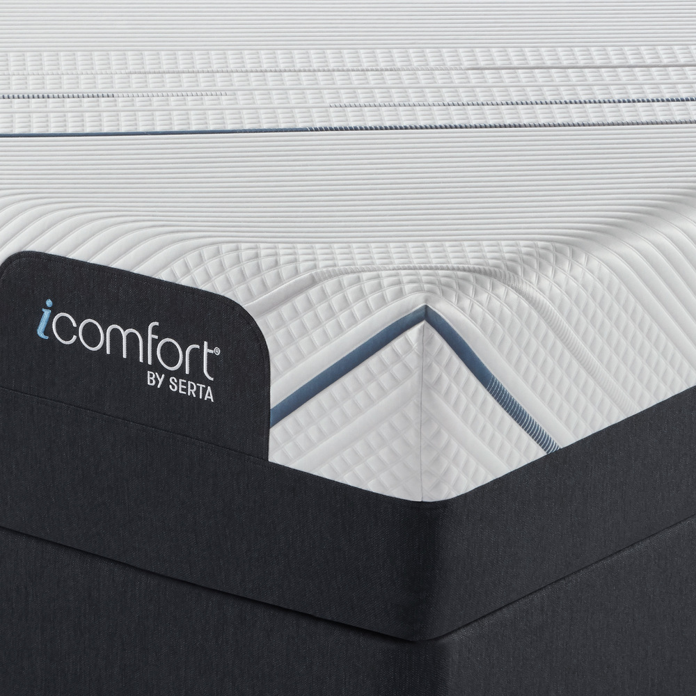 Serta Mattress - iComfort Foam CF4000 Ultra Plush Mattress with Motion Perfect IV Adjustable Base