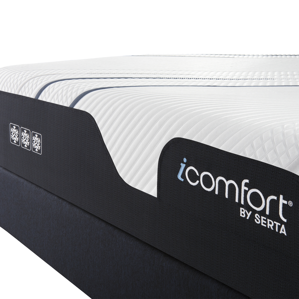Serta Mattress - iComfort Foam CF4000 Ultra Plush Mattress with Motion Essentials IV Adjustable Base