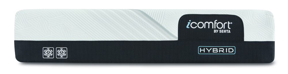 SERTA MATTRESS COMPANY - iComfort CF2000 Non-Quilted Hybrid Firm Mattress with Motion Perfect IV Adjustable Base