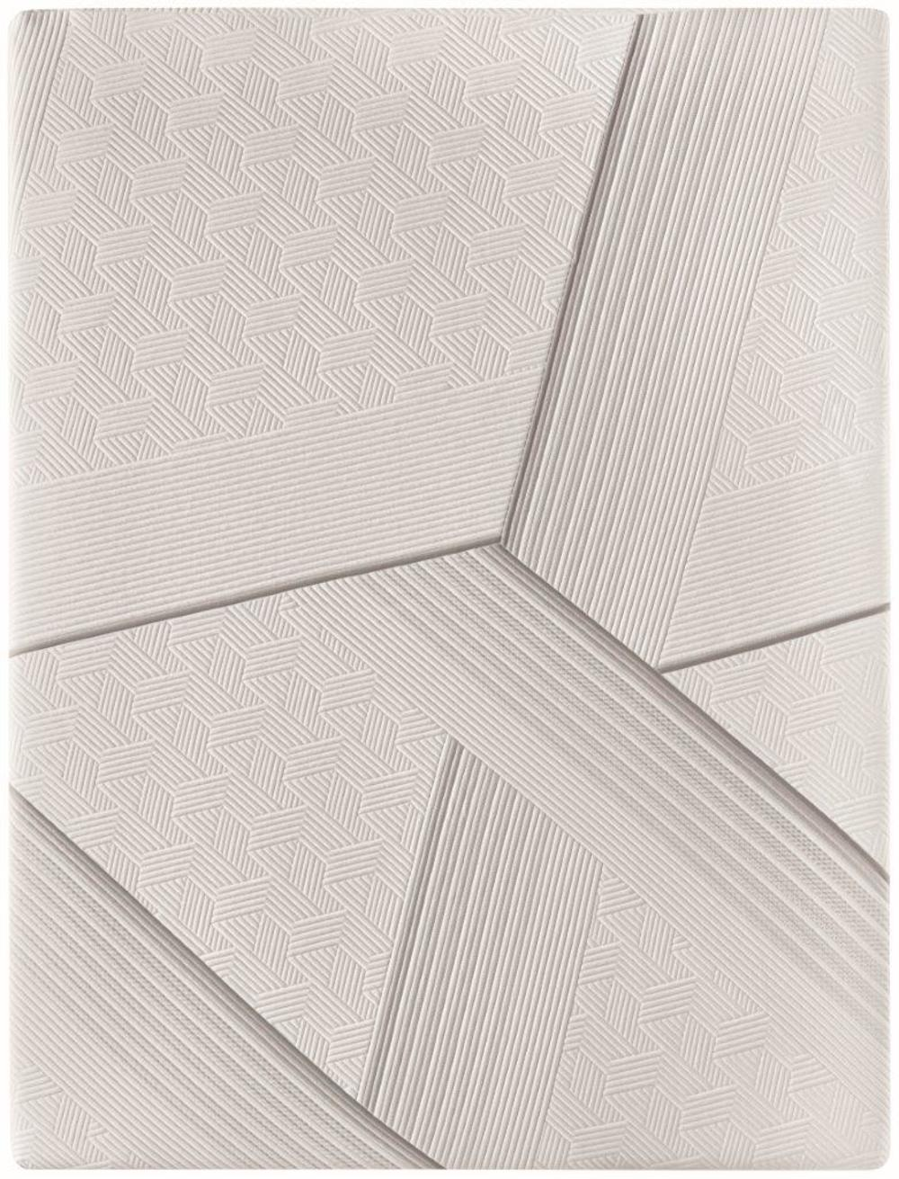 Serta Mattress - iComfort CF2000 Non-Quilted Hybrid Firm Mattress with Low Profile Box Spring