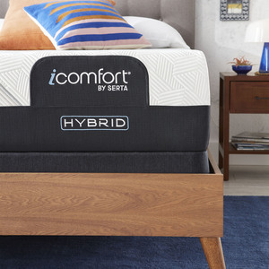 Thumbnail of Serta Mattress - iComfort CF2000 Non-Quilted Hybrid Firm Mattress with Standard Box Spring