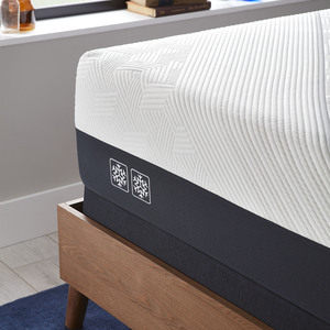 Thumbnail of Serta Mattress - iComfort CF2000 Non-Quilted Hybrid Firm Mattress with Low Profile Box Spring