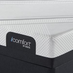 Thumbnail of Serta Mattress - iComfort Foam CF2000 Firm Mattress with Low Profile Box Spring