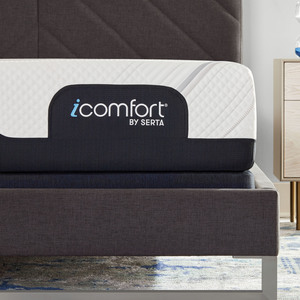 Thumbnail of SERTA MATTRESS COMPANY - iComfort Foam CF2000 Firm Mattress with Motion Essentials IV Adjustable Base