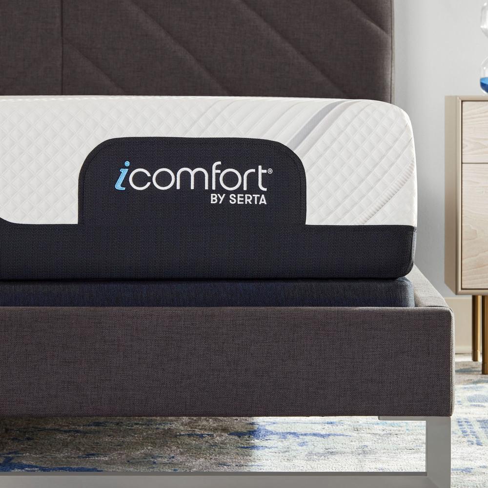 Serta Mattress - iComfort Foam CF2000 Firm Mattress with Motion Perfect IV Adjustable Base