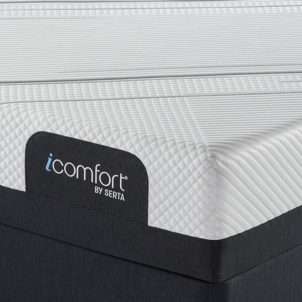 SERTA MATTRESS COMPANY - iComfort Foam CF2000 Firm Mattress with Low Profile Box Spring