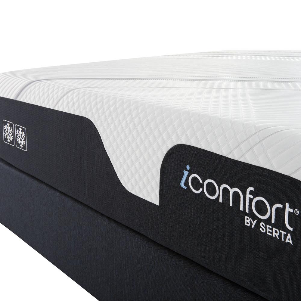 Serta Mattress - iComfort Foam CF2000 Firm Mattress with Motion Essentials IV Adjustable Base