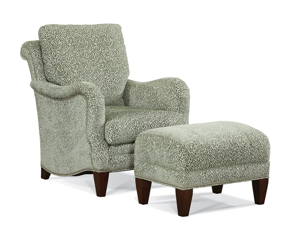 Sherrill Furniture Company - Chair and Ottoman