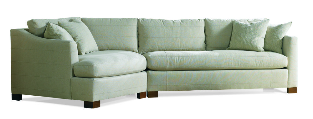 Sherrill Furniture Company - Two Piece Wedge Sectional