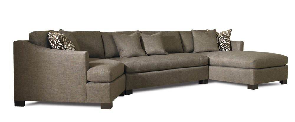 Sherrill Furniture Company - Three Piece Chaise Sectional