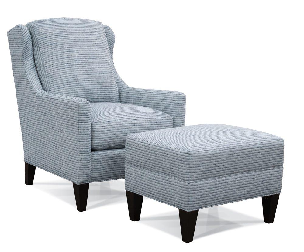 Sherrill Furniture Company - Chair and Ottoman