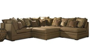 Thumbnail of Sherrill Furniture Company - Six Piece Corner Sectional with Ottoman