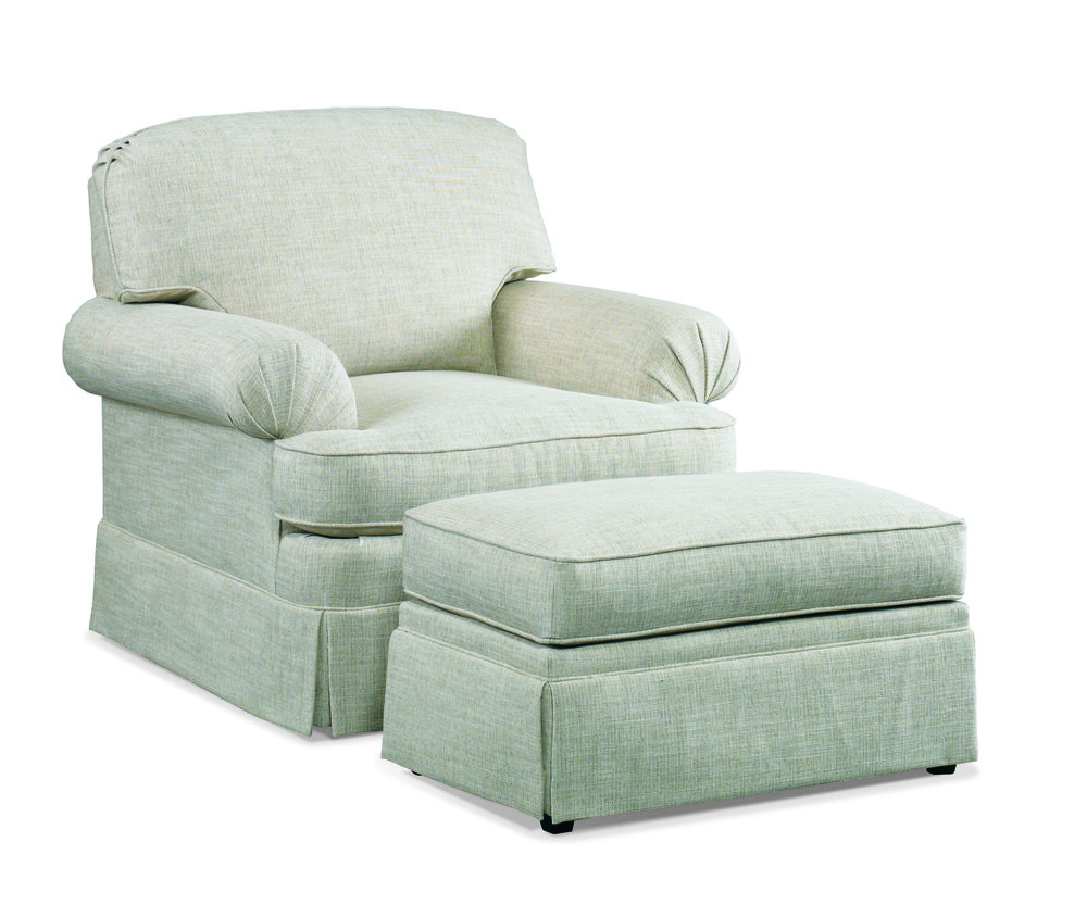 Sherrill Furniture Company - Design Your Own Chair and Ottoman