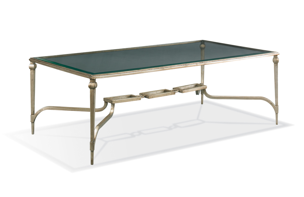 CTH-Sherrill Occasional - Rectangular Cocktail Table