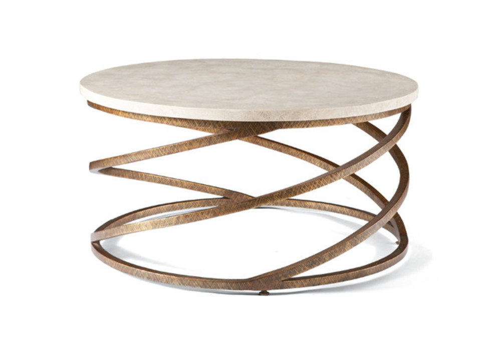 CTH-Sherrill Occasional - Round Cocktail Table