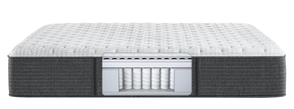 Beautyrest - BRS900-C Silver X Firm Mattress with Low Profile Box Spring