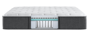 Thumbnail of Beautyrest - BRS900-C Silver Plush Mattress with Standard Box Spring