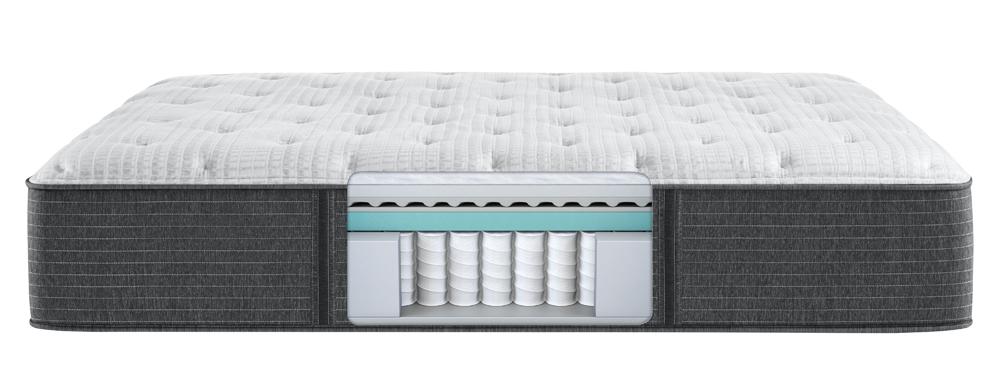 Beautyrest - BRS900-C Silver Plush Mattress with Standard Box Spring