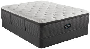 Thumbnail of Beautyrest - BRS900-C Silver Plush Pillow Top Mattress with Standard Box Spring