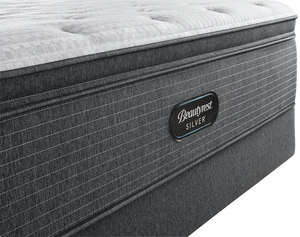 Thumbnail of Beautyrest - BRS900-C Silver Plush Pillow Top Mattress with Low Profile Box Spring