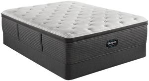 Thumbnail of Beautyrest - BRS900-C Silver Plush Pillow Top Mattress with Standard Box Spring