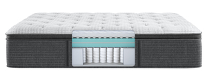 Thumbnail of Beautyrest - BRS900-C Silver Plush Pillow Top Mattress with BR Black Luxury Motion Base