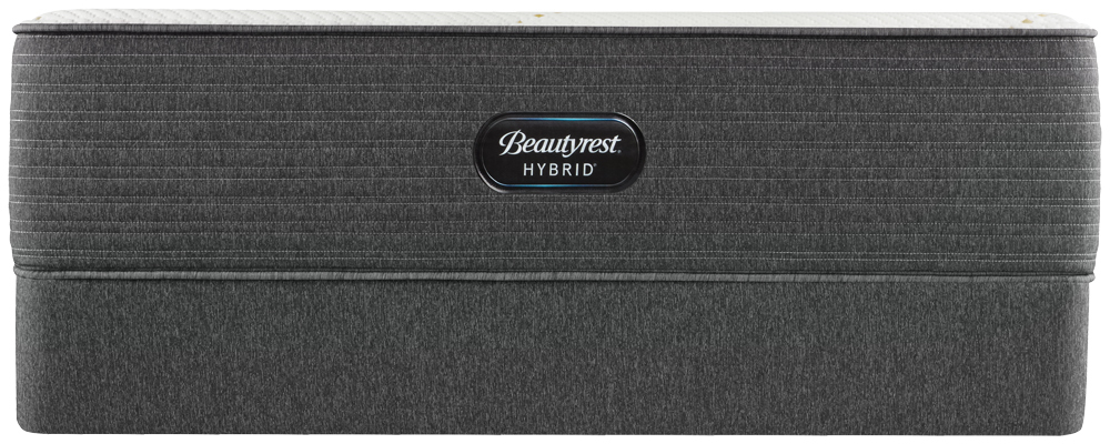 Beautyrest - BRX 1000-IP Hybrid Medium Mattress with Low Profile Box Spring