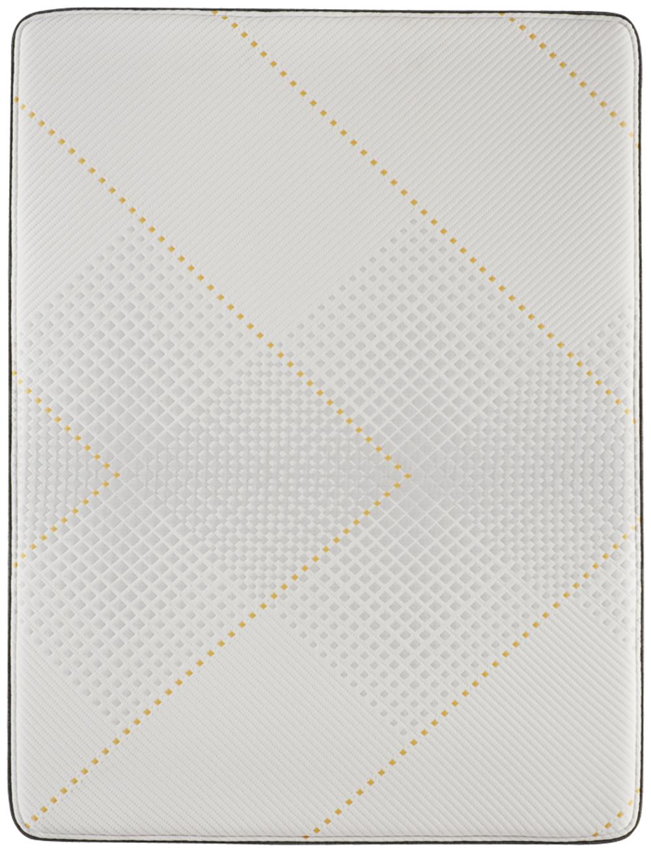 Beautyrest - BRX 1000-IP Hybrid Medium Mattress with Low Profile Box Spring