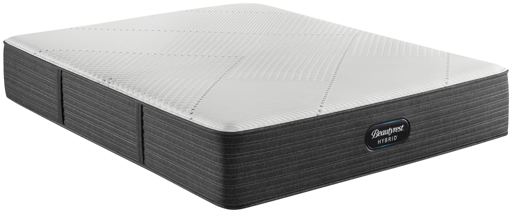 Beautyrest - BRX 1000-IP Hybrid Extra Firm Mattress with BR Black Luxury Motion Base