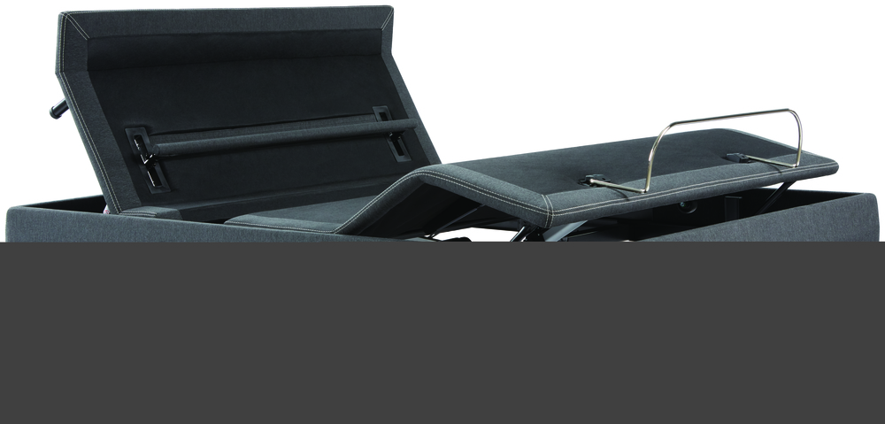 Beautyrest - BR Black L Class X- Firm Mattress with BR Black Luxury Motion Base