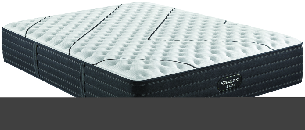 Beautyrest - BR Black L Class X- Firm Mattress with Low Profile Box Spring