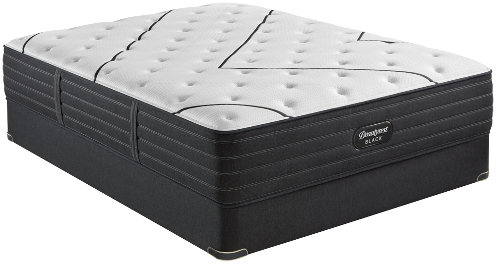 Beautyrest - BR Black L Class Medium Mattress with Standard Box Spring