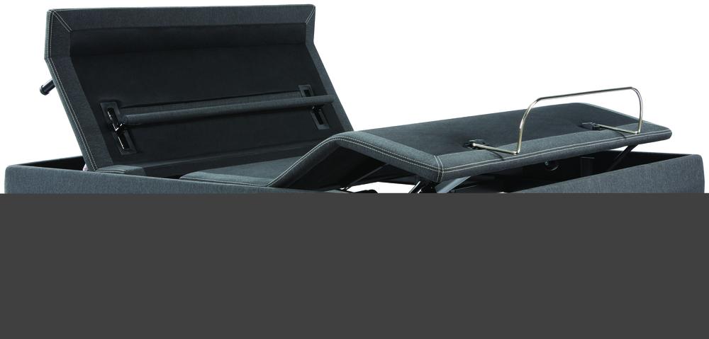 Beautyrest - BR Black L Class Medium PT Mattress with BR Black Luxury Motion Base
