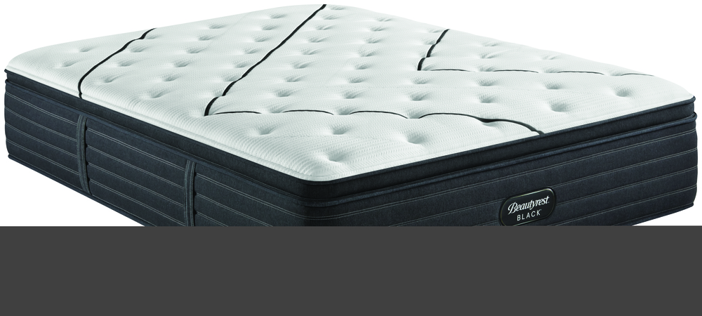 SIMMONS BEDDING COMPANY - BR Black L Class Medium PT Mattress with Low Profile Box Spring