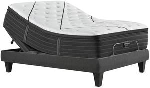 Thumbnail of Beautyrest - BR Black L Class Plush PT Mattress with BR Black Luxury Motion Base