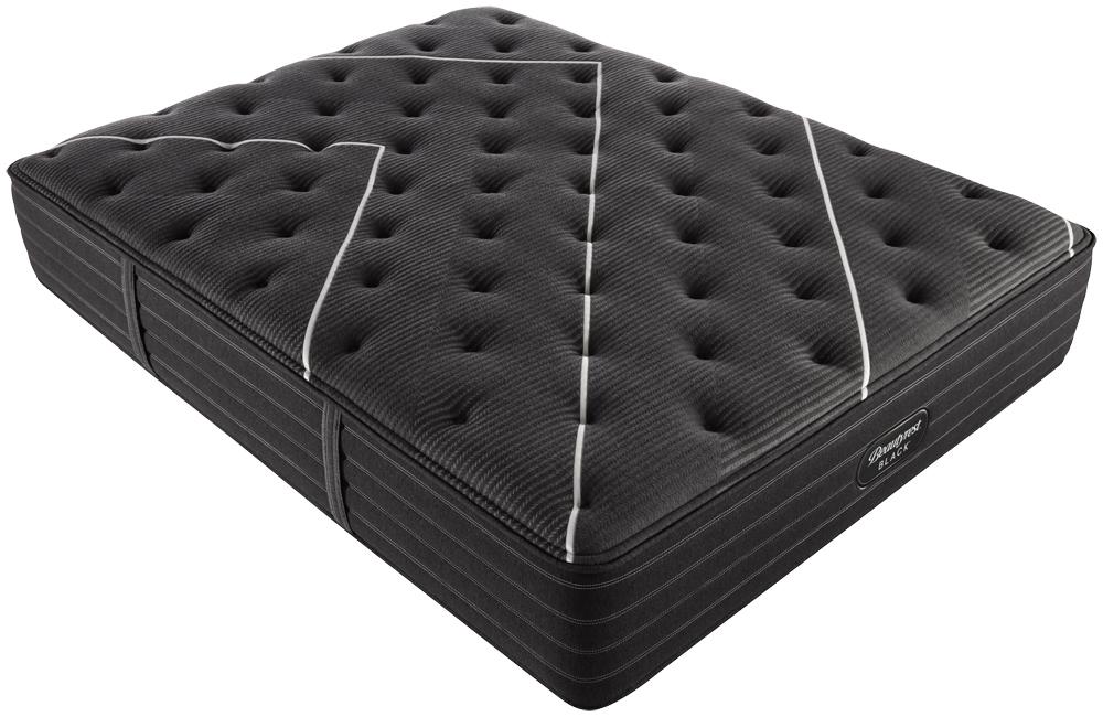Beautyrest - BR Black C Class Medium Mattress with BR Black Luxury Motion Base