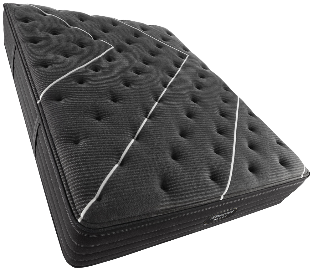 Beautyrest - BR Black C Class Medium Mattress with BR Advanced Motion Base