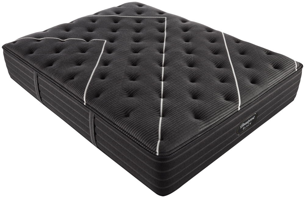 Beautyrest - BR Black C Class Medium Mattress with BR Black Luxury Motion Base