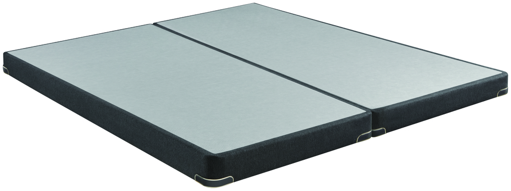 Beautyrest - BR Black C Class Plush Mattress with Low Profile Box Spring
