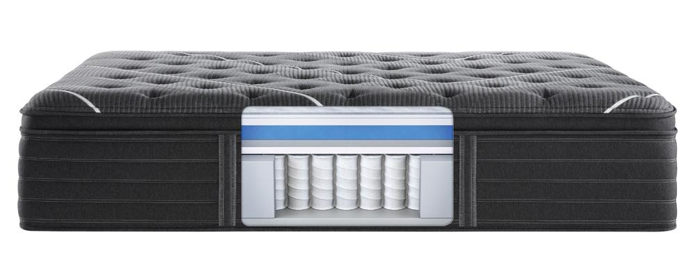 Beautyrest - BR Black C Class Medium PT Mattress with Standard Box Spring