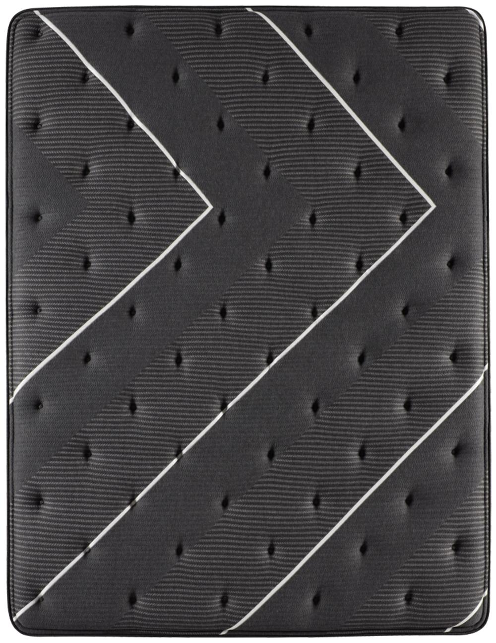 Beautyrest - BR Black C Class Medium PT Mattress with BR Black Luxury Motion Base