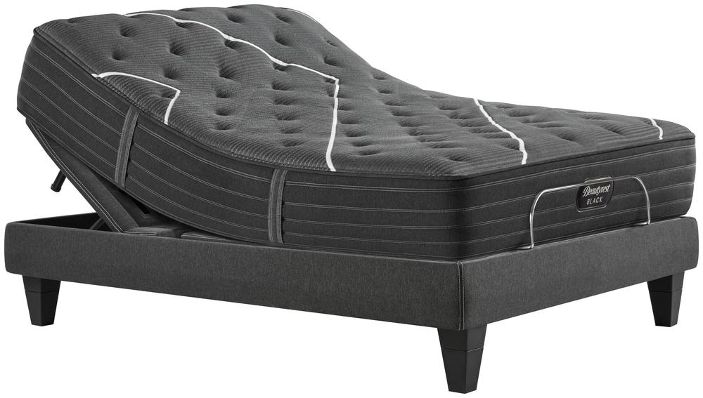 Beautyrest - BR Black K Class Medium Mattress with BR Black Luxury Motion Base