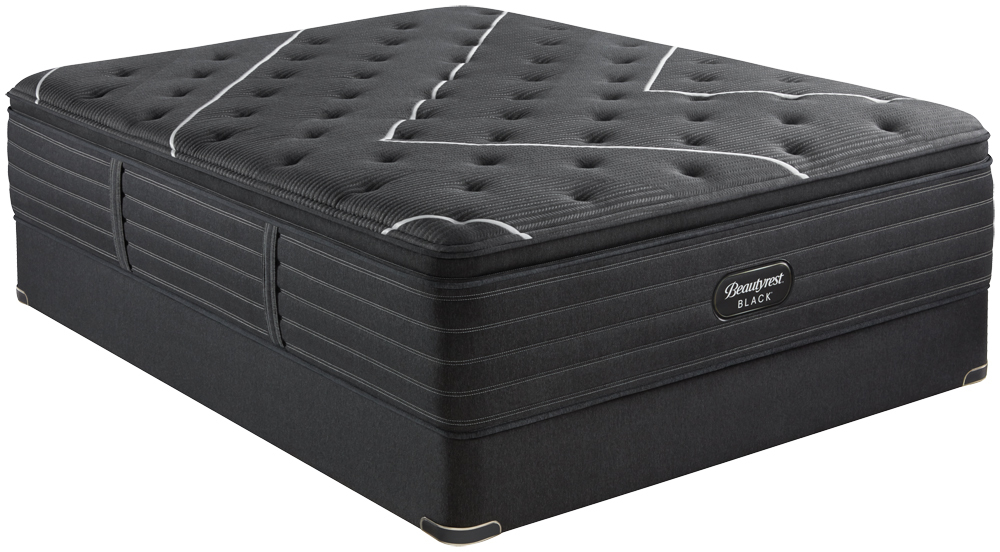 Beautyrest - BR Black K Class Firm PT Mattress with Standard Box Spring