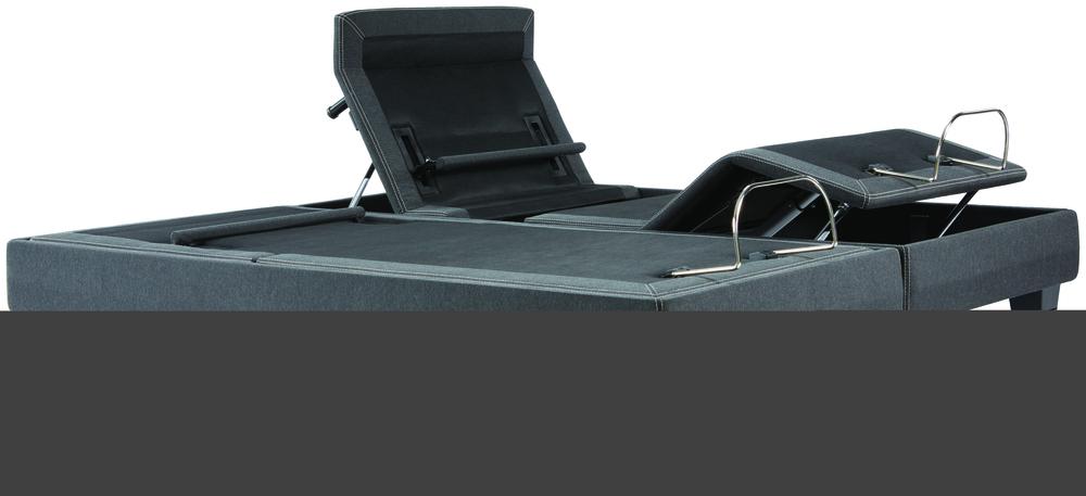 Beautyrest - BR Black K Class Ultra Plush PT Mattress with BR Black Luxury Motion Base