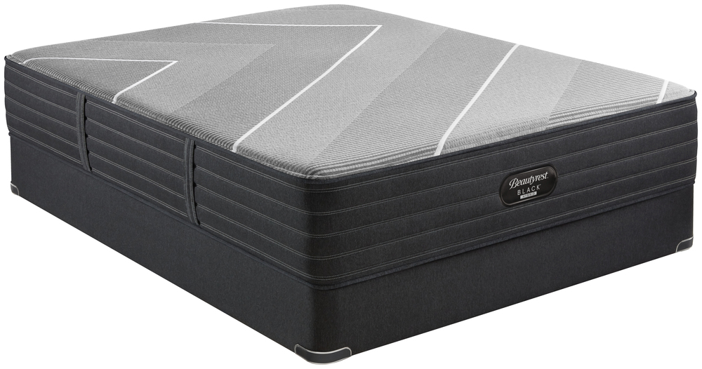 Beautyrest - Beautyrest Black X Class Hybrid Plush Mattress with Standard Box Spring