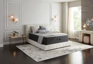 Thumbnail of Beautyrest - Beautyrest Black X Class Hybrid Plush Mattress with Standard Box Spring