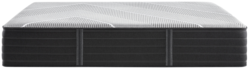 Beautyrest - Beautyrest Black X Class Hybrid Plush Mattress with Low Profile Box Spring